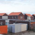 zicht vanaf woningen Torenlaan op binnengebied